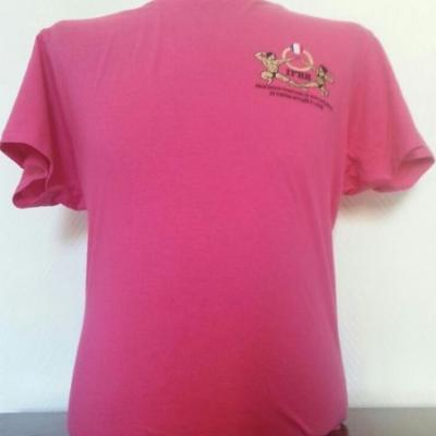 T-shirt fuschia