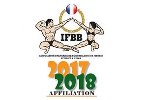 Licence 2017 2018 affiliation